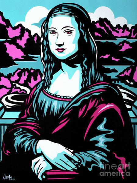 Mona Lisa Wall Art - Painting - Mona Lisa by James Lee