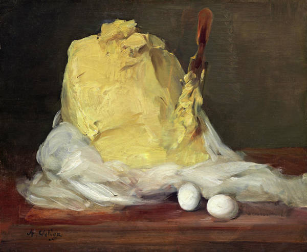 Mound Of Butter Art Print