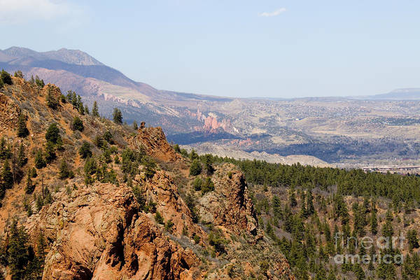 Photograph - Mount Cutler Trail In Cheyenne Canyon In Colorado Springs by Steve Krull