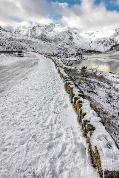 Snowdonia Wall Art - Photograph - Mountain View by Adrian Evans