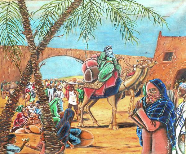 Nigeria Painting - Mr. by Nasir Madaki