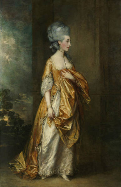 Painting - Mrs. Grace Dalrymple Elliott by Thomas Gainsborough