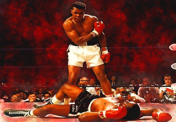 Boxing Mixed Media - Muhammad Ali by Love Art