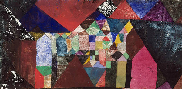 Drawing - Municipal Jewel by Paul Klee