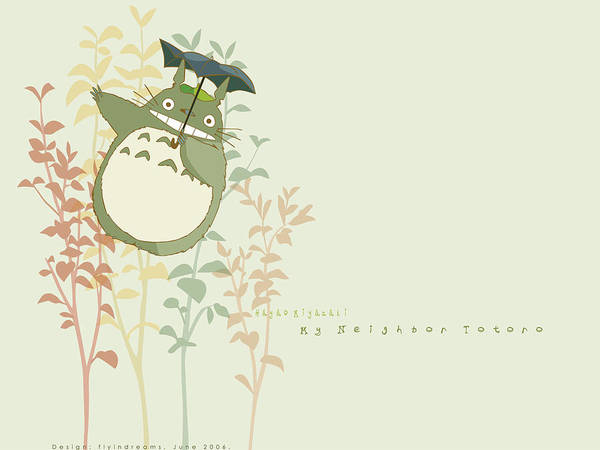 Wall Art - Digital Art - My Neighbor Totoro by Mery Moon