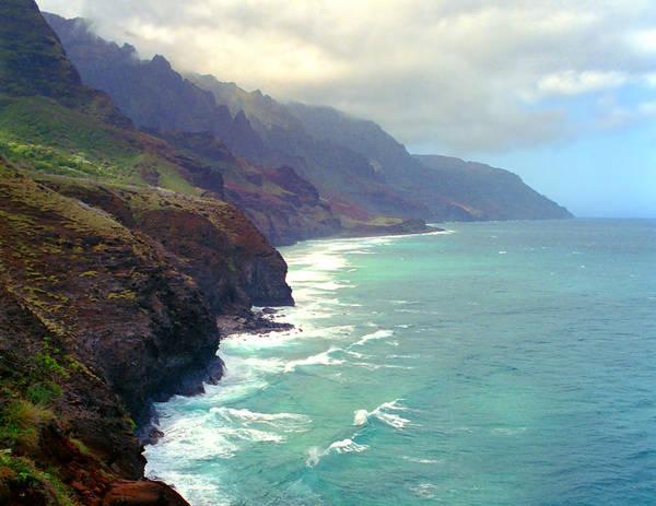 Wall Art - Photograph - Na Pali Coast Kauai by Kevin Smith