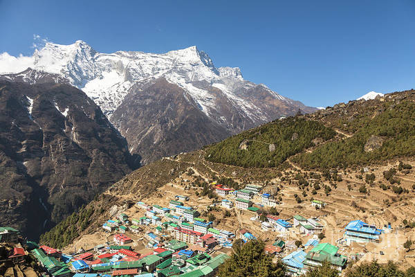 Photograph - Namche Bazar In Nepal by Didier Marti