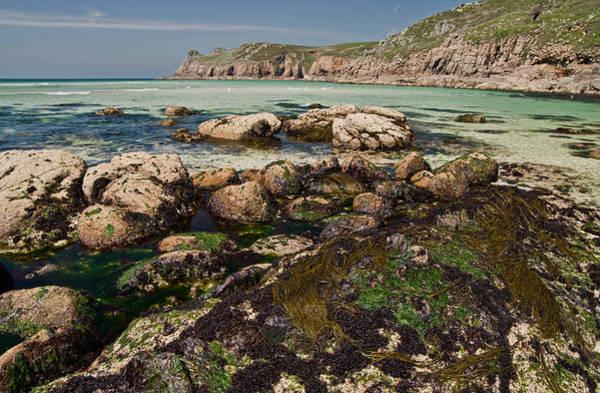 Photograph - Nanjizal Beach In Cornwall by Pete Hemington