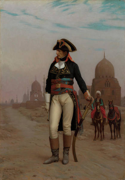 Nile Painting - Napoleon In Egypt by Jean-Leon Gerome