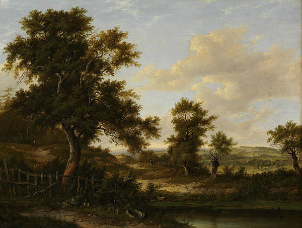 Painting - Near Penshurst, Kent by Patrick Nasmyth
