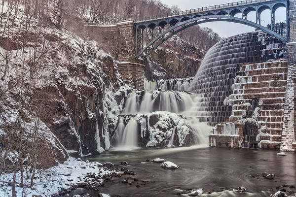 Spillway Photograph - New Croton Dam by June Marie Sobrito