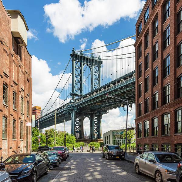 Wall Art - Photograph - New York City Manhattan Bridge by Melanie Viola