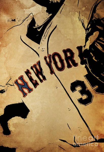 Wall Art - Photograph - New York Yankees Baseball Team Vintage Card by Drawspots Illustrations