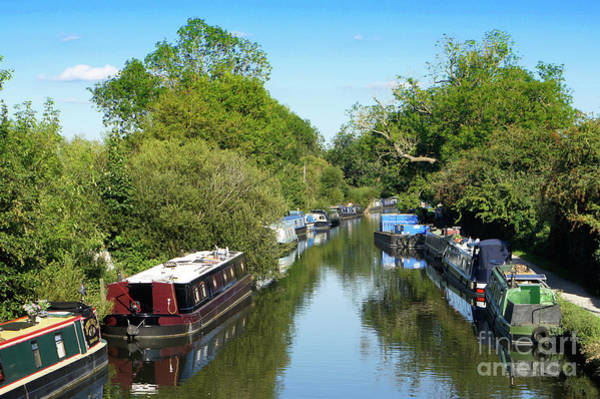 Wall Art - Photograph - Newbury Canal by Tom Gowanlock