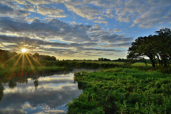 Photograph - Nippersink Creek At Sunrise by Ray Mathis