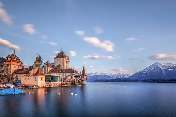 Wall Art - Photograph - Oberhofen - Switzerland by Joana Kruse