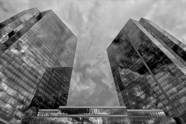 Office Buildings White Plains Ny Art Print