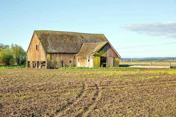 Wall Art - Photograph - Old Barn by Paul Fell