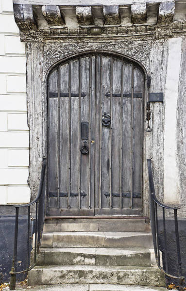 Archway Photograph - Old Doorway by Tom Gowanlock