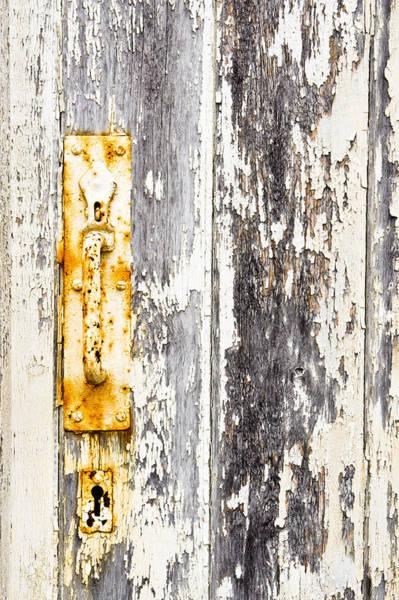 Latch Wall Art - Photograph - Old Gate by Tom Gowanlock