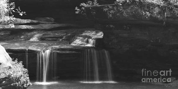 Wall Art - Photograph - Old Mans Cave Ohio State Park Waterfall by ELITE IMAGE photography By Chad McDermott