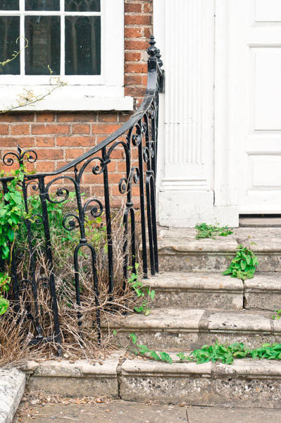 Crumble Photograph - Old Steps by Tom Gowanlock
