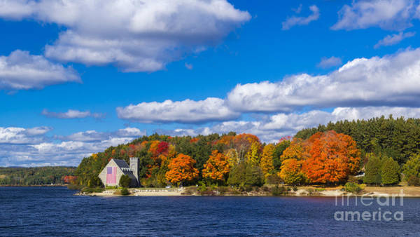 Photograph - Old Stone Church. West Boylston, Massachusetts. by New England Photography