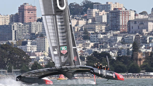 Photograph - Oracle America's Cup 34 by Steven Lapkin