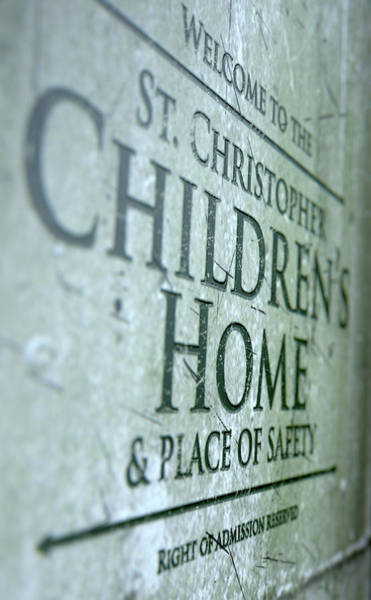 Orphan Digital Art - Orphanage Signage by Allan Swart