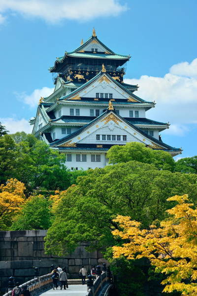 Photograph - Osaka Castle by Songquan Deng