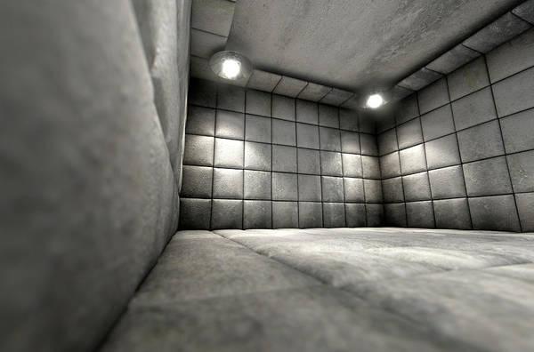 Wall Art - Digital Art - Padded Cell Dirty by Allan Swart