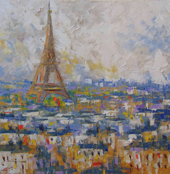 Painting - Paris by Frederic Payet