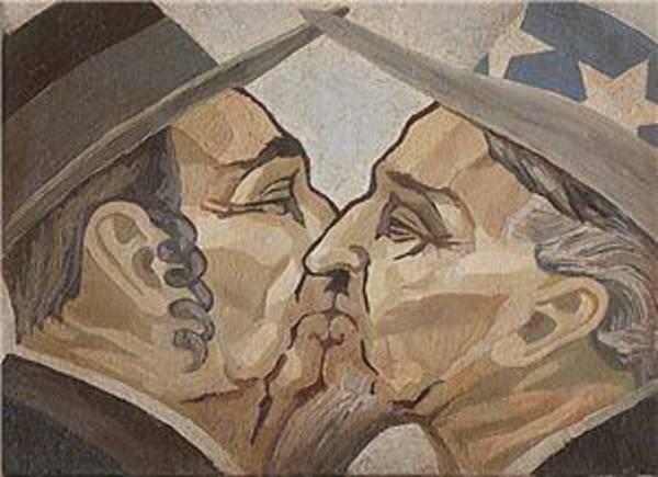 Wall Art - Painting - Parody by Povilas Savickas