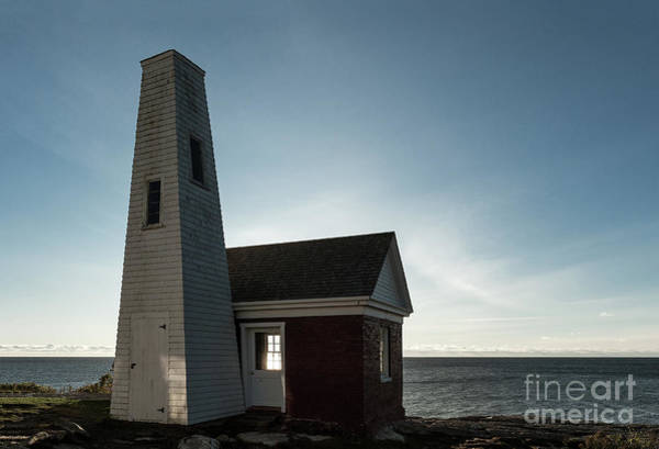 Wall Art - Photograph - Pemaquid Point Bell House by John Greim