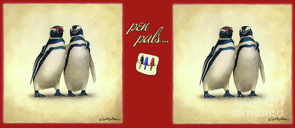 Painting - Pen Pals... by Will Bullas