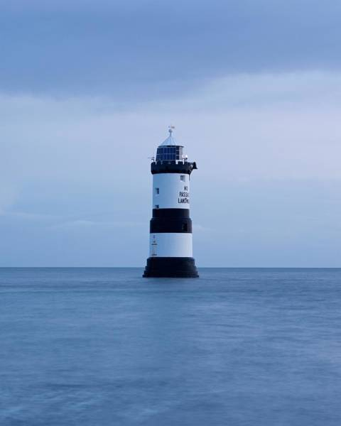 Photograph - Penmon Lighthouse by Stephen Taylor
