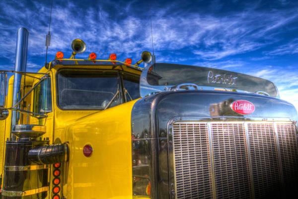 Peterbilt Photograph - Peterbilt American Truck by David Pyatt