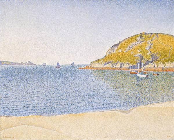Azure Painting - Port Of Saint-cast by Paul Signac