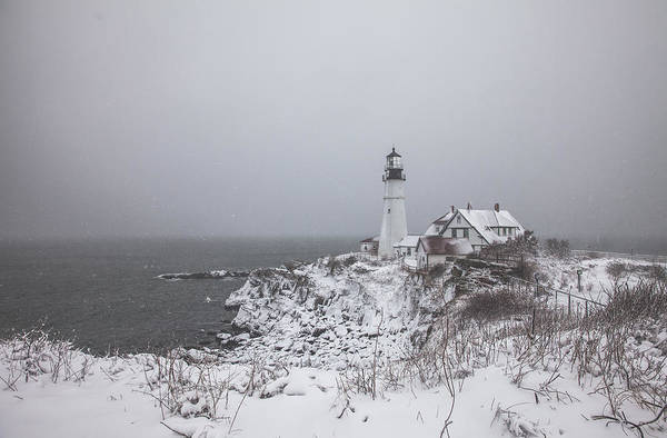 Photograph - Portland Headlight by Robert Clifford