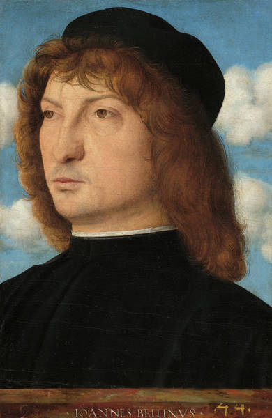 Painting - Portrait Of A Venetian Gentleman by Giovanni Bellini