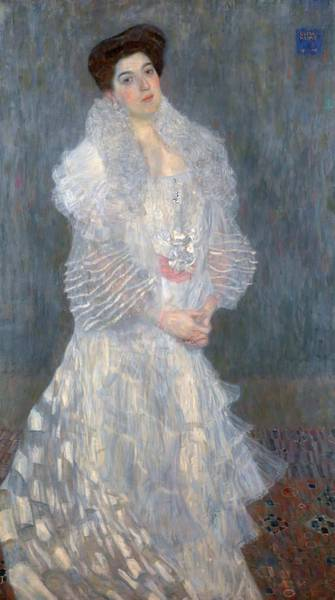 Boa Painting - Portrait Of Hermine Gallia by Mountain Dreams