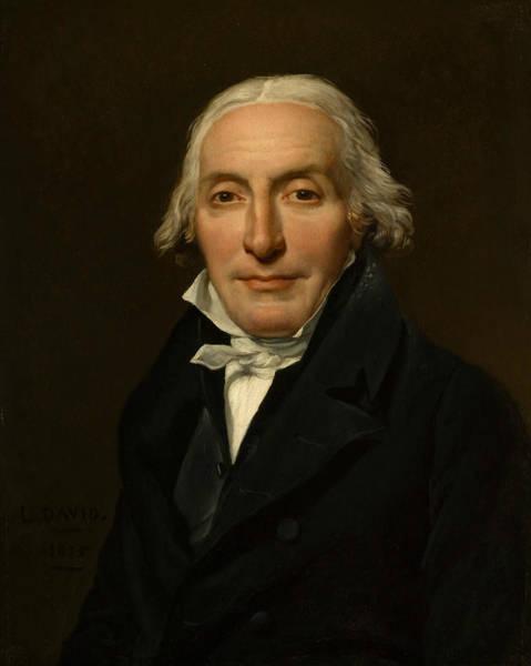 Painting - Portrait Of Jean-pierre Delahaye by Jacques-Louis David