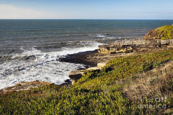 Azenhas Photograph - Portuguese Coast by Andre Goncalves