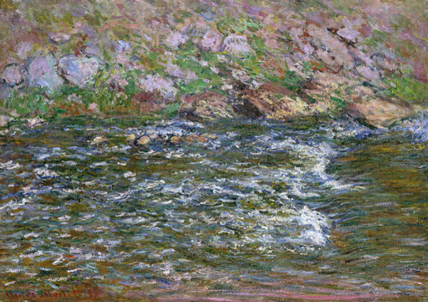 Painting - Rapids On The Petite Creuse At Fresselines by Claude Monet