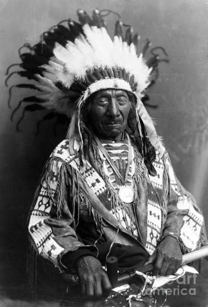 Wall Art - Photograph - Red Cloud, Oglala Lakota Indian Chief by Science Source