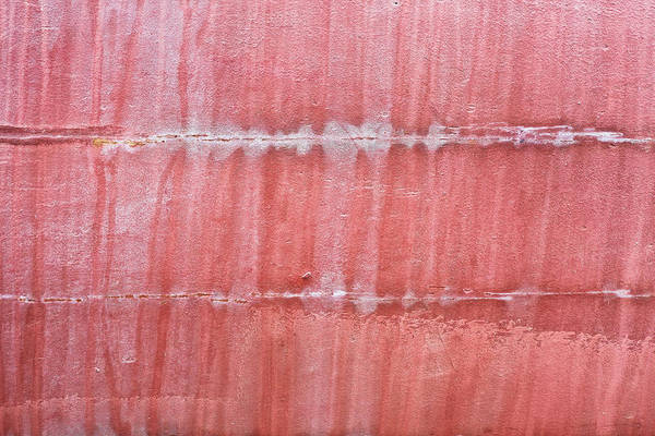 Corrosion Photograph - Red Metal  by Tom Gowanlock