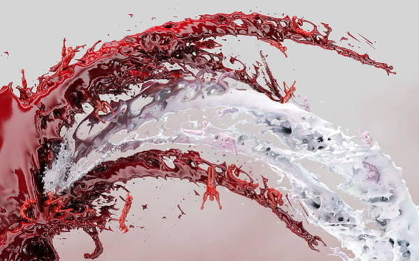 Red Digital Art - Red by Super Lovely