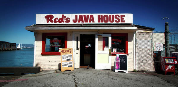 Wall Art - Photograph - Red's Java House - San Francisco by Mountain Dreams