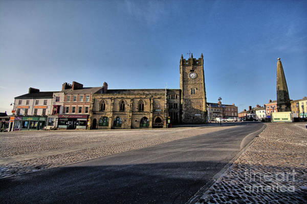 Market Photograph - Richmond, North Yorkshire by Smart Aviation