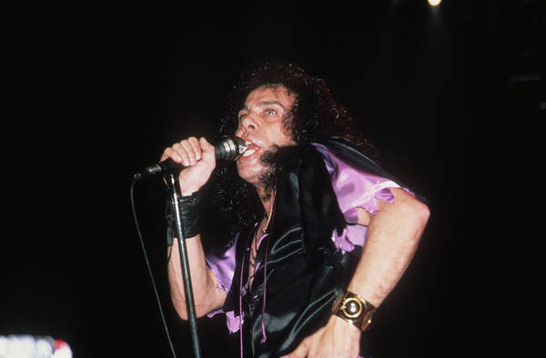 Photograph - Ronnie James Dio by Rich Fuscia